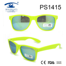 Wenzhou Manufacture Newest Light Color Plastic Sunglasses (PS1415)